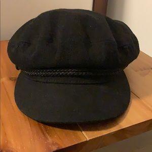 Black Brixton fiddler hat.